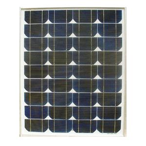 solar power fence panel