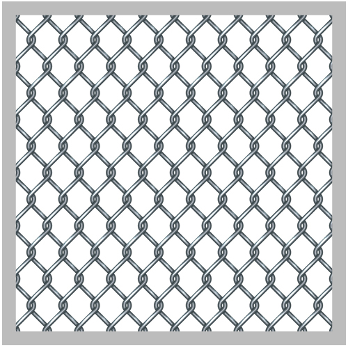 2 inch chain link fence