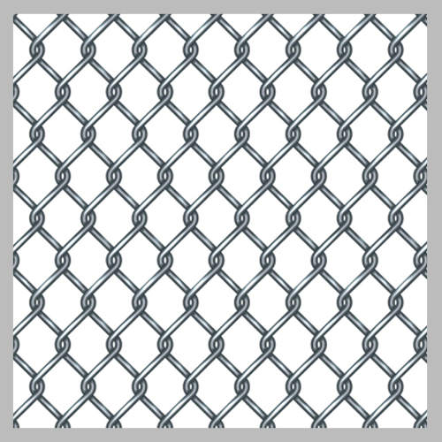 3 inch chain link fence